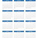 Free Printable Yearly Calendars 2021 2021 - Calendar Inspiration Design