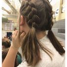 cute hairstyles for medium hair for school for kids