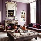 Lilac Living Rooms