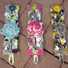 Fabric Cuff Bracelets