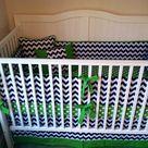 Chevron Crib Bedding
