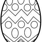 Blank Easter Egg Templates