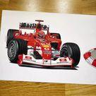 Ferrari f2003 - s1m4s.art - Draw to Drive