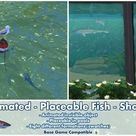 Bakies The Sims 4 Custom Content: Animated - Placeable Fish - Sharks 🦈