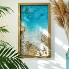 3d seascape painting