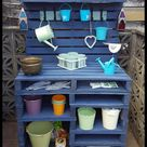 Pallet Projects - Creating a Potting Station