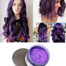 Natural Hair Dye Wax - Purple