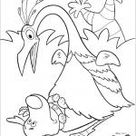 Up free coloring picture