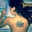 Back Thigh Tattoo