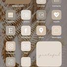 IOS14 Beige icons   IOS 14 Beige Layout Icons   Beige Aesthetics Homescreen