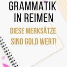10 englische Grammatik Regeln in lustigen Reimen
