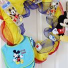 Craft: Disney Baby Shower Wreath - See Vanessa Craft