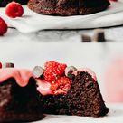 Dark Chocolate Mini Bundt Cakes (vegan + paleo)
