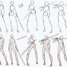 Swordsman Poses Pack | Azizla Swiftwind on Patreon