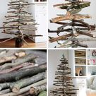 16 DIYs to decorate a small living room for Christmas
