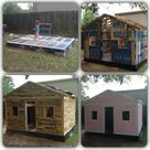 Pallet Play Houses