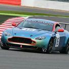 Box Canvas Print. CJ6 3186 Geoffrey Lewis, Aston Martin V8