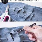 30 удивительных DIY способов превратить ваши джинсы