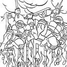 dessin tortue ninja nickelodeon