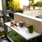 DIY-Balkonablage   Willkommen auf Balkonien