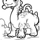 Malvorlage Dinosaurier - Kostenlose Ausmalbilder