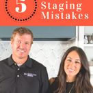 Joanna Gaines of 'Fixer Upper' Reveals 5 Top Home-Staging Mistakes