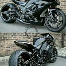 Wenn Darth Vader eine Gabelungsrakete wäre Kawasaki Ninja ..     Bikes / Motor...,  Bikes ...