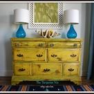 Yellow Dresser