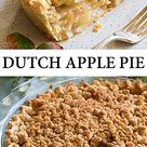 Dutch Apple Pie - this is my all-time favorite apple pie!