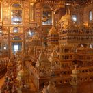 Ajmer Jain Temple, also known as Soniji Ki Nasiyan, is an architecturally rich Jain temple. It was built in the late nineteenth century.