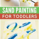 Learn to sand paint with your toddler with our brilliant guide!