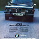 1975 BMW 3.0Si Sedan Aussie Original Magazine Advertisement