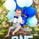 Baby Boy 1st Birthday