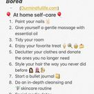 73 Fun Things To Do Alone At Home For When You Are Bored
