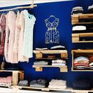 Begehbarer Kleiderschrank oder Regalsystem ?   Upcycling