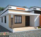 Low Cost house in Kerala 668 Sqft