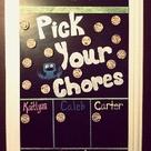 Weekly Chore Charts