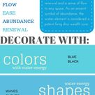 Power Decorating with Water Feng Shui Element