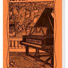 Ibach pianos - early 20th century advertisement. Box Canvas Print. Ibach pianos - early 20th century advertisement. with Berlin address: Potsdamerstr.