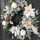 50 Breathtakingly Beautiful Christmas Wreaths To Decorate Your Front Door