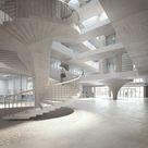 Forschungsgebäude ETH Zürich, Boltshauser Architekten Zürich Visualization nightnurse images