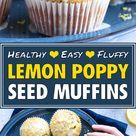 The BEST Lemon Poppy Seed Muffins