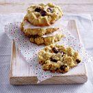 Haferflocken-Cranberry-Cookies Rezept  | LECKER