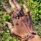 Flower Power Copper Ring & Bracelet Set   Etsy