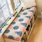 How To Make A Bench Cushion—No Sewing Required!