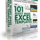 101 Free Excel Templates   MyExcelOnline
