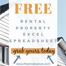 Free Rental Property Excel Spreadsheet: Start Investing in Real Estate