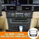 Generico Fibra de carbono de CD consola y AC Panel de ajuste de la