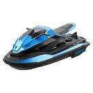 JJRC S9 1/14 2.4G Motorcycle Double Motor Two Speed Vehicle RC Boat Remote Control Boat Models Outdoor Toys for Boy Kid Gift   Blue