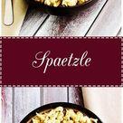 5 Ingredient Spaetzle Recipe